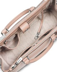 MICHAEL Michael Kors - Pink Sutton Medium Satchel Bag - Lyst