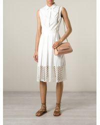 Chloé   Pink Elle Lambskin Cross-Body Bag   Lyst