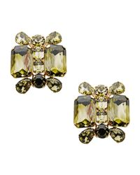 DSquared² - Yellow Earrings - Lyst