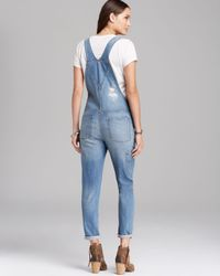 Blank - Blue Overalls Denim - Lyst