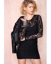 Nasty Gal - Black Motel Elsa Dress - Lyst