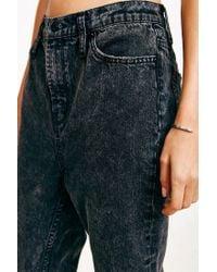 BDG | Acid Washed Black Mom Jeans | Lyst