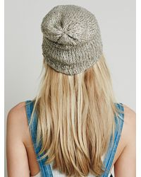 Free People - Natural Womens Hans Climber Beanie - Lyst