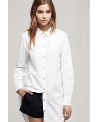 Rag & Bone - White Nightingale Shirt - Lyst