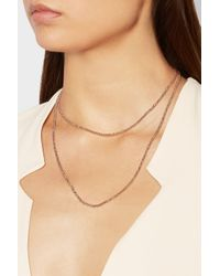 Carolina Bucci - Pink 18-Karat Rose Gold Necklace - Lyst