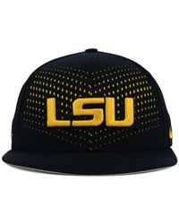 finest selection b3cb4 343fb Men s Black Lsu Tigers True Seasonal Snapback Cap