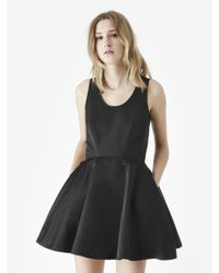 McQ - Black Volume Tank Dress - Lyst