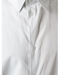 Golden Goose Deluxe Brand - White Pin Stripes Shirt for Men - Lyst