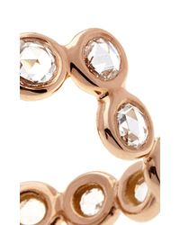 Lito - Metallic 18K Rose Gold Heartbeat Ring - Lyst