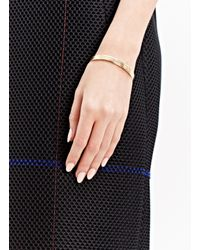 Jem - Metallic Jem Women's Voids Xl Bracelet From Aw15 In Yellow Gold - Lyst