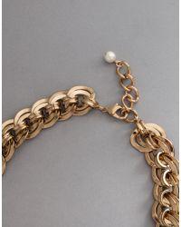 "Dolce & Gabbana | Metallic ""amore"" Necklace | Lyst"