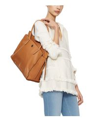 Tory Burch | Brown Brody Leather Tote | Lyst