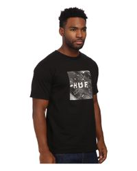 Huf | Black Classic Youth Box Logo Tee for Men | Lyst