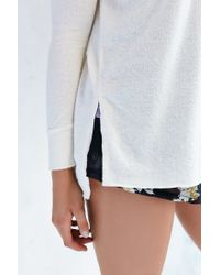 Project Social T - White Ava Tunic Top - Lyst