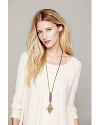 Free People - Metallic Biko Womens Mira Pendant - Lyst