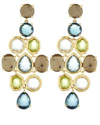 Ippolita | Metallic Gold Rock Candy Chandelier Earrings | Lyst