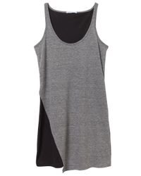 Alternative Apparel | Gray Eco-jersey Asymmetrical Dress | Lyst