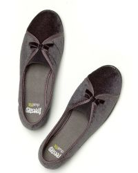 Freestep - Gray Maisie Heritage Slippers - Lyst