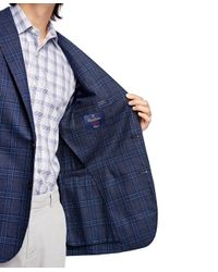 Brooks Brothers - Blue Regent Fit Plaid Sport Coat for Men - Lyst