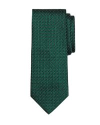 Brooks Brothers - Green Basketweave Tie for Men - Lyst