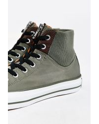 Converse - Green Chuck Taylor All Star Ma1 Zip High-top Sneaker for Men - Lyst
