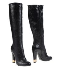 Casadei - Black Boots - Lyst