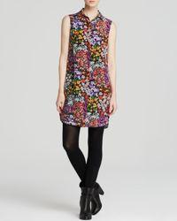 Equipment | Multicolor Dress - Michaela Lively Floral Print | Lyst