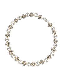 Konstantino | White Small Link Mabe Pearl Necklace | Lyst