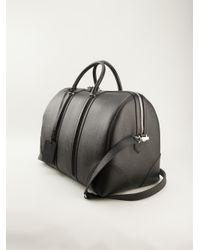 Givenchy - Gray Zipper Detail Holdall for Men - Lyst