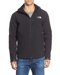 The North Face - Black 'apex Bionic' Climateblock Windproof Hooded Jacket for Men - Lyst