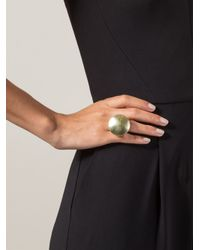 Vaubel | Metallic Plain Round Ring | Lyst