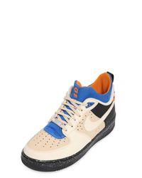 Nike - Blue Air Force 1 Mowabb Sneakers for Men - Lyst