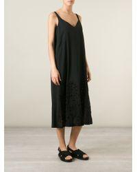 N°21 - Black Short Sleeve Lace Dress - Lyst