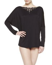 La Perla | Black Pajama Top | Lyst