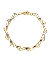 Joomi Lim | Metallic Vertigo 18Kt Gold-Dipped Necklace | Lyst