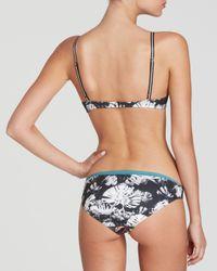 Clover Canyon - Multicolor Chrome Divide Neoprene Bikini Top - Lyst