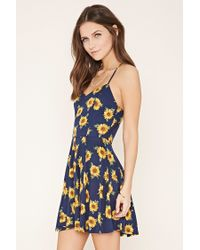 a1c0def59dce Forever 21 Sunflower Cami Mini Dress You've Been Added To The ...