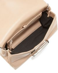 3.1 Phillip Lim - Natural Alix Soft Flap Clutch Bag - Lyst