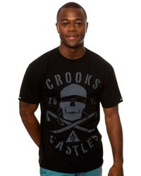 Crooks and Castles - Black The Knight Tee for Men - Lyst