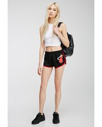 Forever 21 - Black Miami Heat Athletic Shorts You've Been Added To The Waitlist - Lyst