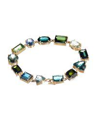 Irene Neuwirth - Green Tourmaline & Yellow-Gold Bracelet - Lyst