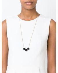 Isabel Marant - Metallic Three Circular Pendant Necklace - Lyst