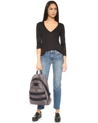 Marc By Marc Jacobs | Gray Domo Arigato Pack Rat Backpack - Faded Aluminum | Lyst
