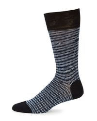 Calvin Klein | Blue Space Dye Socks for Men | Lyst