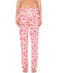 Calvin Klein | Red Printed Pyjama Bottoms | Lyst