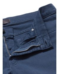 J Brand | Blue 'tyler' Stretch Twill Chinos for Men | Lyst