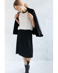 Just Female - Black Mason Skirt - Lyst
