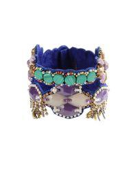 Deepa Gurnani - Purple Bracelet - Lyst