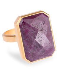 Ringly | Purple Wine Bar Smartphone Connected Ring | Lyst