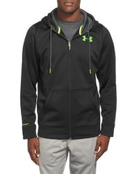 Under Armour | Black Water Resistant Ua Storm Full Zip Hoodie for Men | Lyst